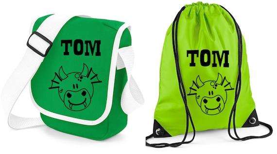0cc62b00dc Set Nursery Bag   Gym bag with Name