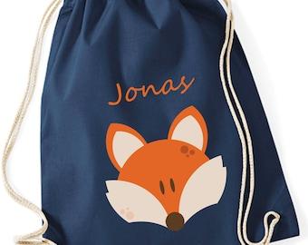 Gymnastics bag called Fox for kids | Gymsac Fox Kids Boys Girls | Cloth bag for pulling for boys & girls