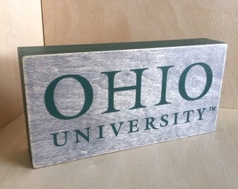 Ohio University Logo Etsy