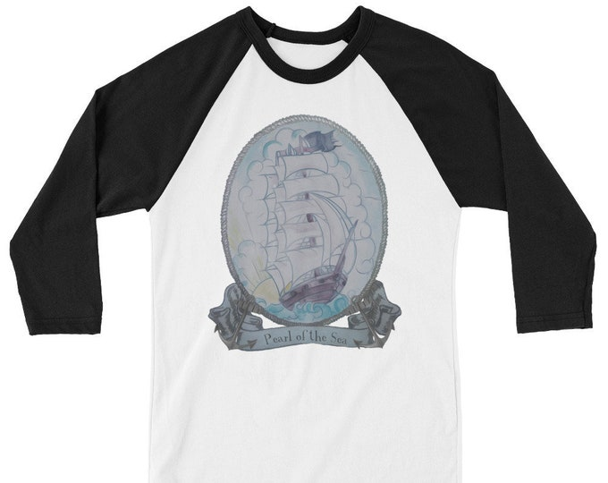 Pearl of the Sea Raglan