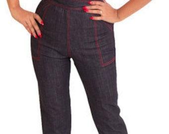 Roslyn Retro Style Jeans