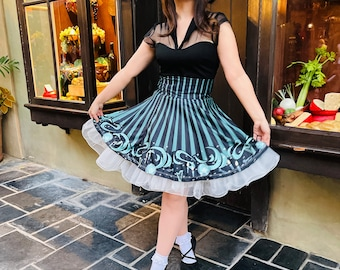 Haunting Hostess Skirt
