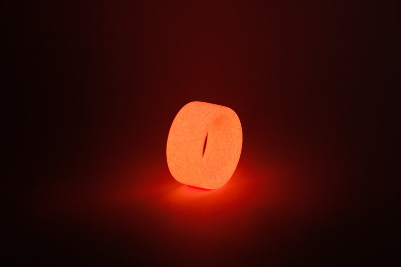 Solid Color Pure Series The Pure Red Ring Glow Ring