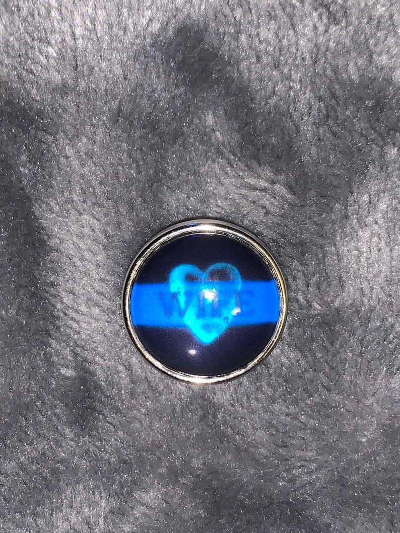 Snap Jewelry 18mm Police Wife Snap