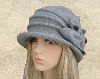 ef056672321e0c Felted hat woman, Womens winter hat, Woman's felted hat, Winter cloche hat, Wool  felt hat lady, ladies winter hat, Felted hat lady, Felt hat