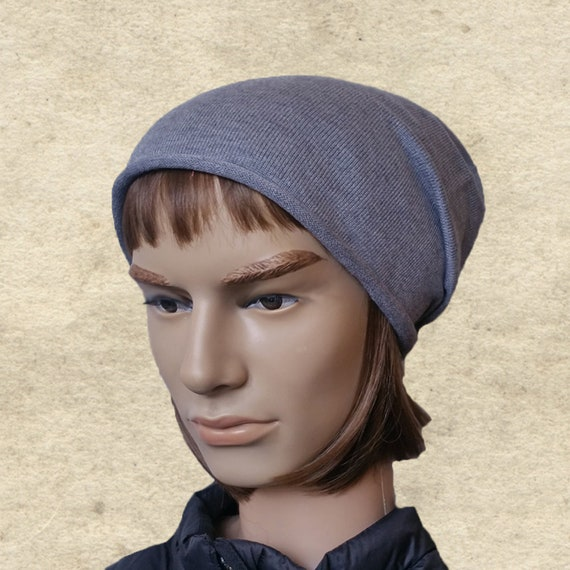 bd5df1e5e12 Mens slouchy beanie Men s slouch hats Gray slouch