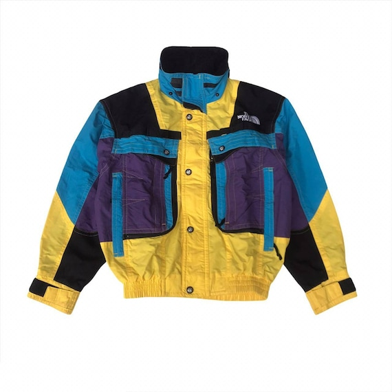 Vintage The North Face Skiwear Color Block Jacket