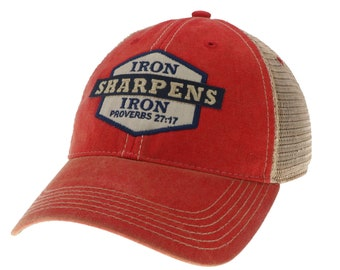 Iron Sharpens Iron Legacy Old Favorite Trucker 032e95a609a