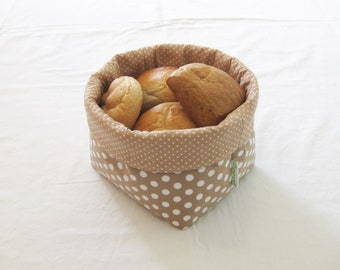 Bread basket DOTS ALLOVER medium !
