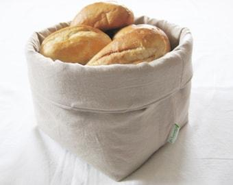 Bread basket LEINEN large !
