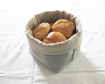 LINEN-BREADBASKET medium sized