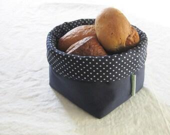 fabric bread basket - small