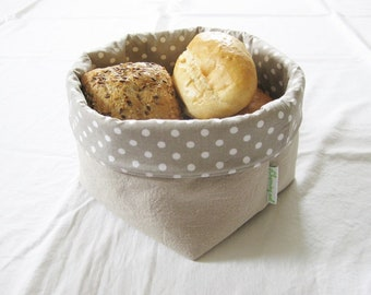 Bread basket LEINEN medium !