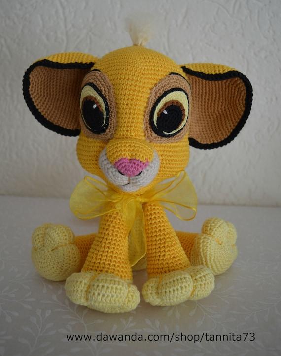 Baby Löwe Simba Amigurumi Häkelanleitung Etsy