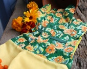 Designer Garden Gloves Sunflower