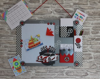 Pinnwand racing car