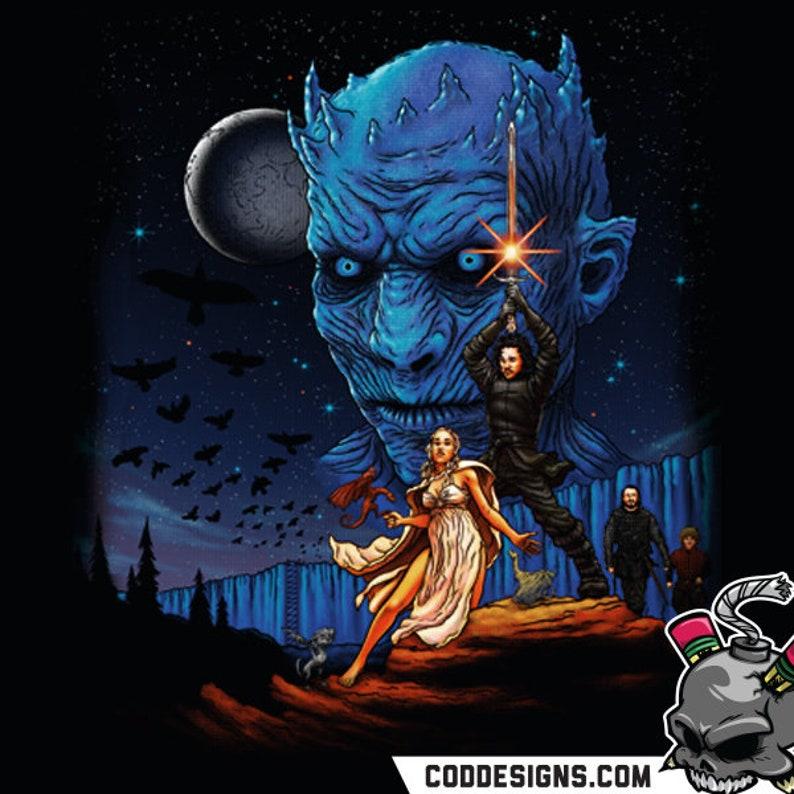 Throne Wars/Create or Destroy/CoDDesigns/White Walker/Game of | Etsy