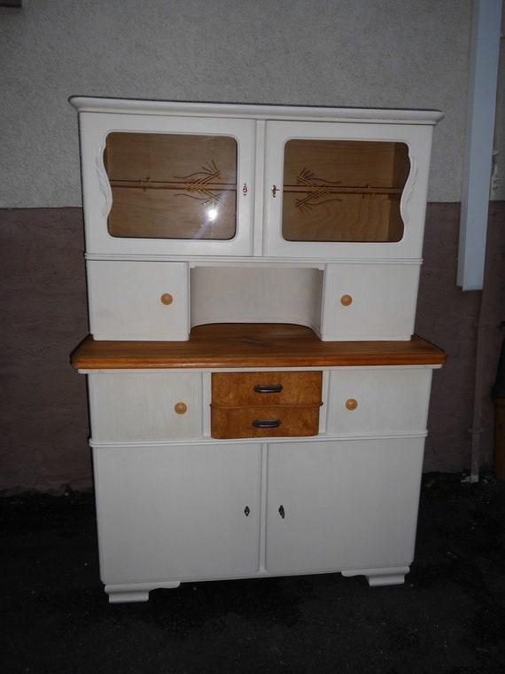 Küchenschrank Bueffet original 50er Jahre Shabby | Etsy