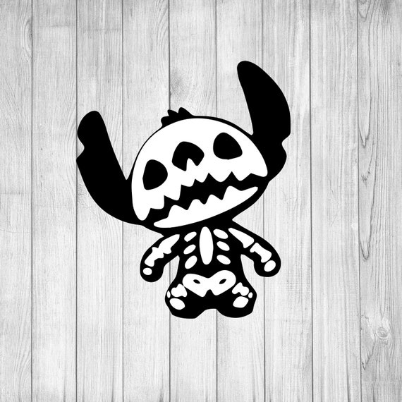 Stitch Skeleton Svg Stitch Svg Lilo And Stitch Svg Disney Etsy