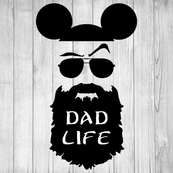 Dad Life Svg Disney World Resort Dad Svg Funny Mickey Mouse Etsy