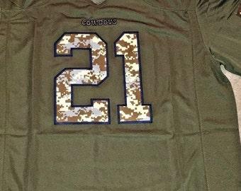 45e876005c6 Ezekiel Elliott Jersey Adult Men's Xl Salute to service brand new Dallas  Cowboys