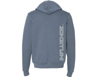 INFLUENCE Unisex Full-Zip Hooded Sweatshirt