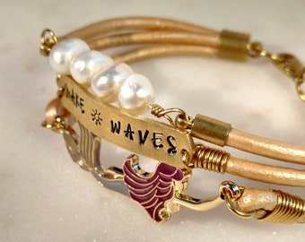 Make Waves Color Mermaid Bracelet, Personalize