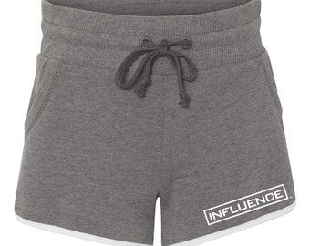 INFLUENCE Women's Vintage French Terry Running Shorts