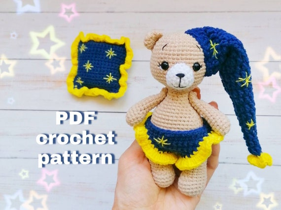 My Favorite Crochet Bear | Crochet teddy bear, Crochet teddy ... | 427x570