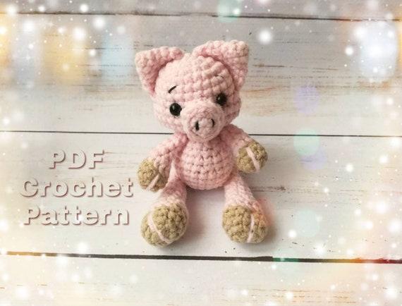 Amigurumi Glücks - Schwein, Schlüsselanhänger; Lucky pig! Keychain ...   434x570