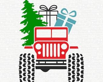 Jeep christmas   Etsy