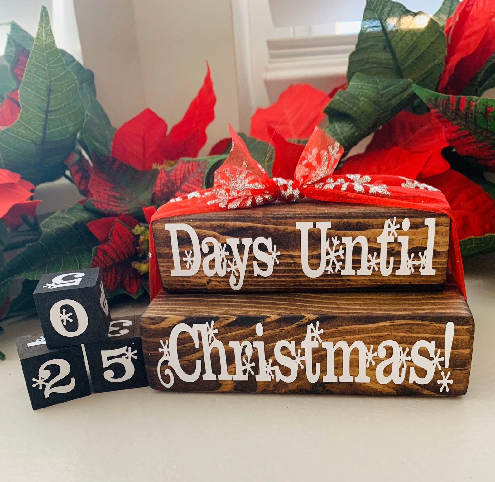Christmas Countdown Blocks Page Three