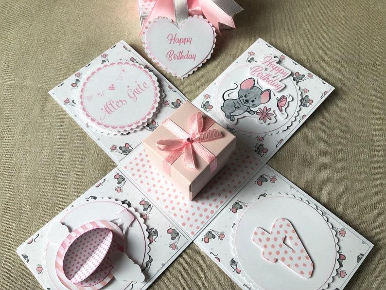 Geschenkbox 1 geburtstag