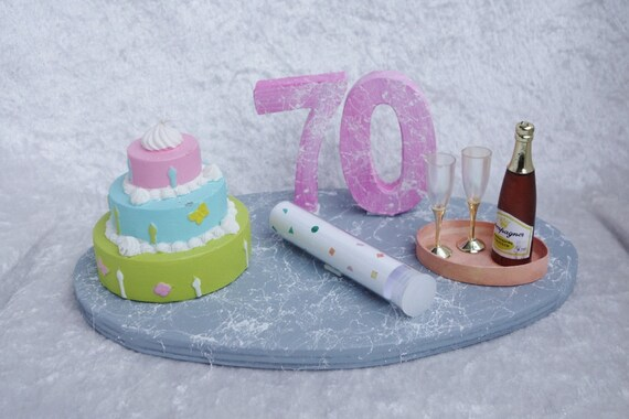 Geldgeschenk Zum 70 Geburtstag Etsy