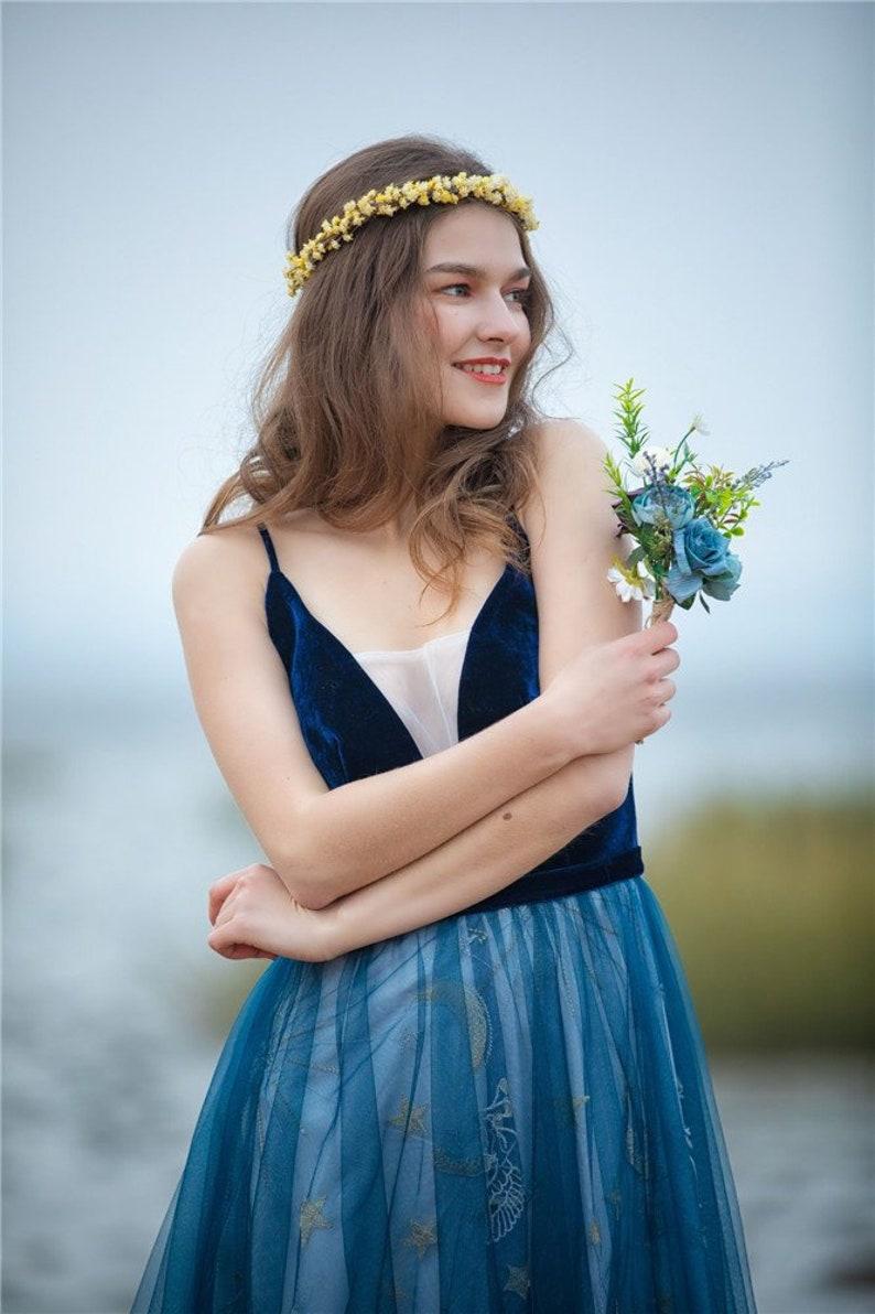 Gypsophila Flower Crown.Bridal flower crown.Boho Hair accessories.Flower headband.wedding flower crown.Flower halo.Baby child flower crown