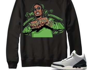 54817d74eeb68a Air Jordan 3 Chlorophyll Sweater