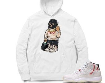 d5fdfe8ce371 Air Jordan 11 Platinum Tint Hoodie