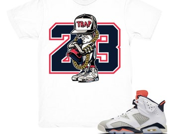 12daf18c431 Air Jordan 6 Tinker shirt | Sneaker Trap - Retro 6 Tinker Hatfield White  tee shirts