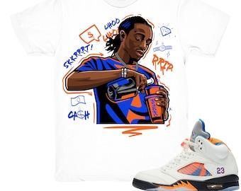 d4299544f7e5 Air Jordan 5 International Flight shirt