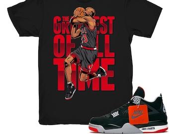 d4ed800cff9f Jordan 4 Bred shirt