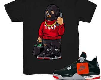 85f583177d1a2e Jordan 4 Bred shirt