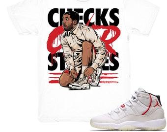 ce2169416b5c Air Jordan 11 Platinum Tint shirt