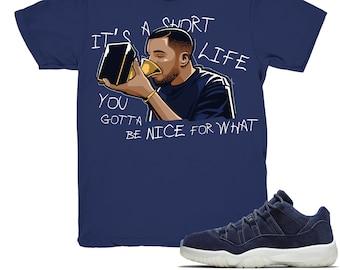 903a706582a272 Air Jordan 11 low Jeter shirt