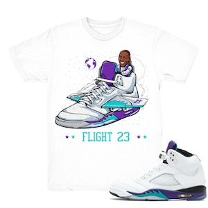Air Jordan 5 International Flight shirt