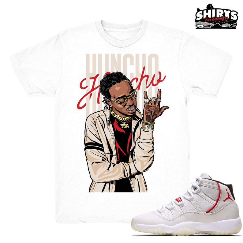 0dfd4bcab196 Air Jordan 11 Platinum Tint shirt Huncho Retro 11 Platinum