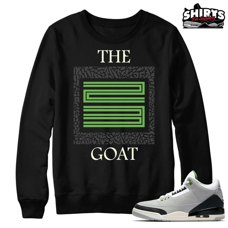 66b338ebc829ae Air Jordan 3 Chlorophyll Sweater The Goat 23 Retro 3
