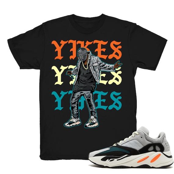 d5f1798852a49 Yeezy Boost Wave Runner 700 shirt Kanye Yikes Wave Runner