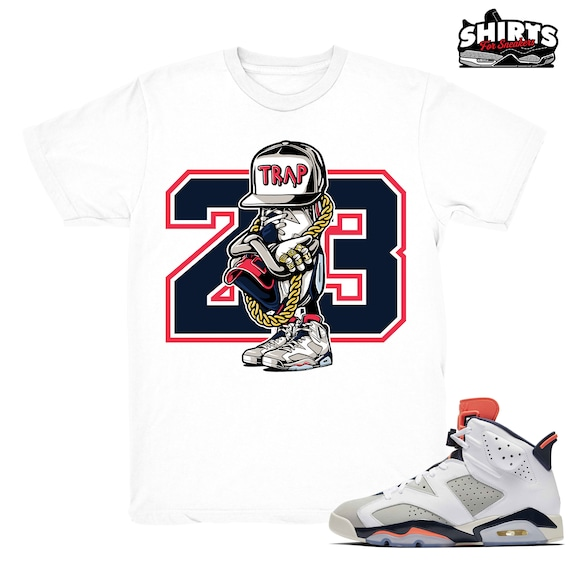 half off 360b3 6ba0c Air Jordan 6 Tinker shirt | Sneaker Trap - Retro 6 Tinker Hatfield White  tee shirts