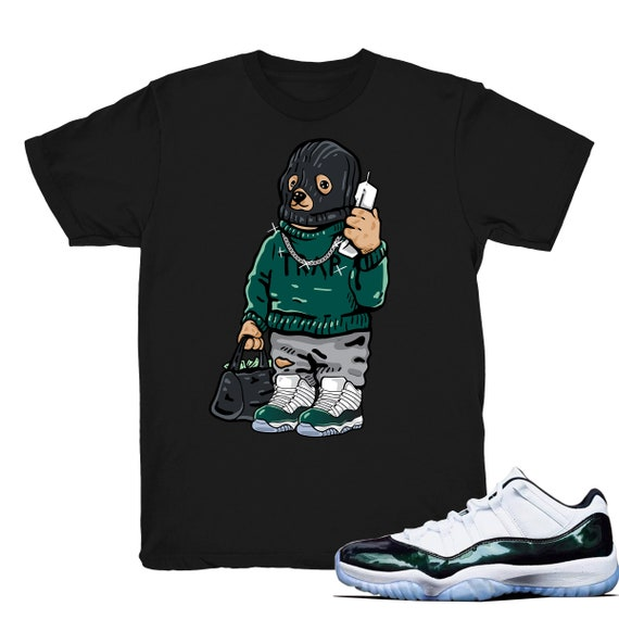 93cd25db85164c Air Jordan 11 low Easter shirt Trap Bear Retro 11 low