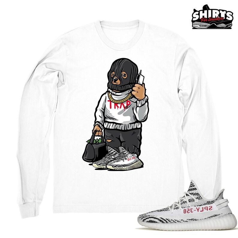 c55a45ea4 Yeezy Boost Zebra 350 shirt Trap Bear Zebra 350 Yeezy tee | Etsy